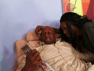 Nyomi Banxxx Gets Her Black Coochie Fucked Hard Doggy Style